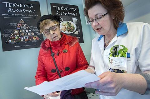 Terveyspiste on terkkarin kumppani - Apteekkari