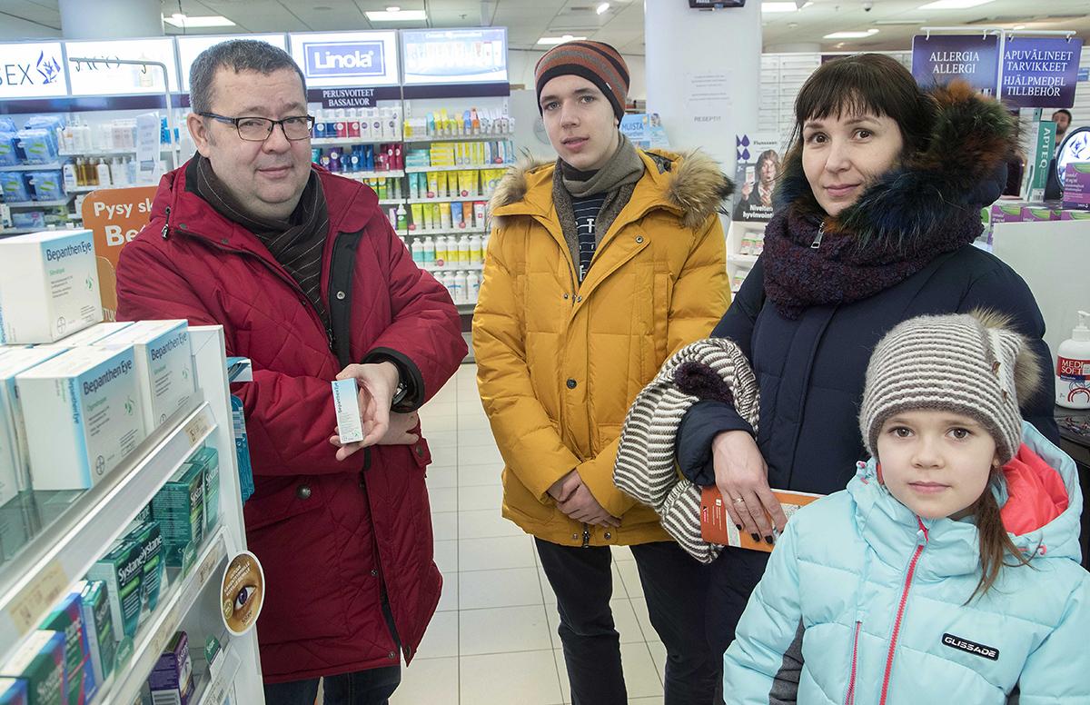 Moskovalainen Latypovan perhe