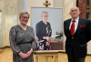 Apteekkari Marja Ritalan muotokuva paljastettiin